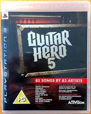 Guitar Hero 5 - Playstation PS3 Games - Very Good Condition