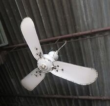 "Antique Marelli Italy Roof Fan AC 32"" Sign Label Made for English Electric Co."