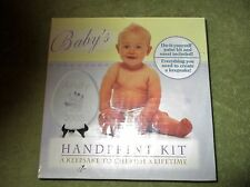 BABY'S HAND PRINT KIT A KEEPSAKE TO LAST A LIFE TIME