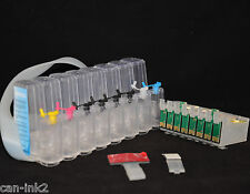 EMPTY- INK CISS CIS Bulk Ink System for Epson R800 R1800 cartridge printer