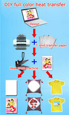 2 Sheets Ironing Protection Transfer Paper for T-shirt Light Fabric LM