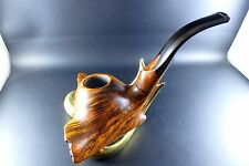 "FREEHAND-PFEIFE - PIPE ""DANISH HANDMADE BARI BY VIGGO NIELSEN 9mm ANNO 1970er"""