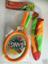 "Boom Bats Bat & Ball Set & 10"" Fabric Ball - Summer Fun"