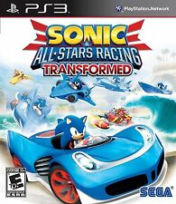 Sonic & All-Stars Racing Transformed (PlayStation PS3) NEW