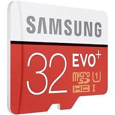 Samsung 32 GB MicroSDHC EVO Plus UHS-1 Speicherkarte für samsung J5 J3