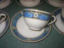 Set of 4 Johnson Bros Brothers China Pareek Devon Cup & Saucer Set  Multicolor