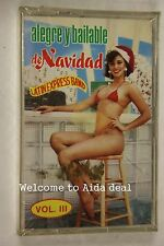 Alegre Y Bailable De Navidad by Latin Express B (1991) (Audio Cassette Sealed)