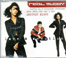 REAL McCOY - LOVE AND DEVOTION (4 track CD single)