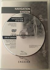 2003 2004 2005 2006 2007 2008 Jaguar X-Type S-Type & R Navigation DVD Map
