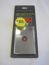 ACR HOT SHOT SIGNAL MIRROR AND WHISTLE - SURVIVAL GEAR WALKING HIKING SAILING