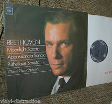 GLENN GOULD BEETHOVEN MOONLIGHT SONATA 2 eye vinyl NM Columbia ML 6488 mono