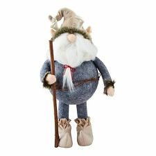 Gnome with Antlers Figurine Gnome for the Holidays Dept 56 Christmas Decor