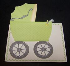 Anna Griffin New Baby Birth Announcements Cards Invitations Old-Fashioned Buggy