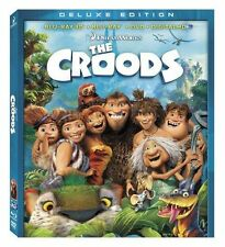 The Croods (2D/3D Blu-ray/DVD, 2013, 3-Disc Set, Deluxe Edition) No Digital copy