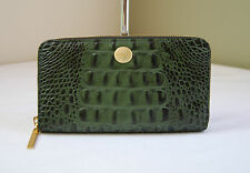 Brahmin Suri Zip Around Wallet Emerald Melbourne