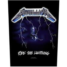 OFFICIAL LICENSED - METALLICA - RIDE THE LIGHTNING BACK PATCH HETFIELD METAL