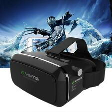 "3D Virtual Reality VR SHINECON Movie Game Glasses BOX For 3.5""-6"" Smart Phone"