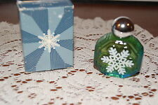 AVON  1984  SNOW  FANTASY  DECANTER  TIMELESS  COLOGNE