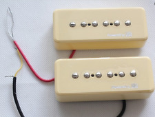 New set P90 LACE Soapbar alnico - cream - pour GIBSON, FENDER...