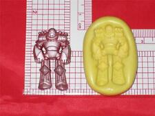 Transformers Silicone Push Mold Robot Food Mould A597 Cake Chocolate Resin Clay