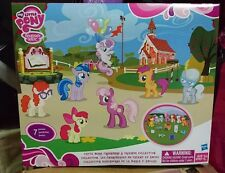 MLP FIM G4 My Little Pony Cutie Mark Crusaders & Friends Collection NIB HTF RARE