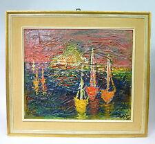 Pintura Imagen firmado Dorit 1956
