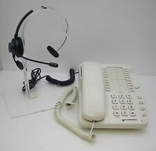 Plantronics SB2010 Desk Phone with Headset for Store Restaurant Hospital Factory