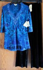 ONE WORLD - LIVE AND LET LIVE - 2 PC. SHIRT & PANTS - NEW W/ TAGS - SZ. S