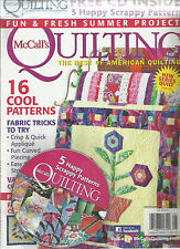 Mc CALL'S QUILTS,  JULY / AUGUST, 2012   VO.19 ( THE BEST OF AMERICAN QUILTING )