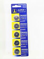100 x CR2032 SUPER Battery Lithium 3V Cell Coin Button Batteries UK SELL