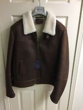 Brand new Prada Men's Leather And Fur Jacket Size 52 (US L)