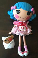"LALALOOPSY Full Size Large 12"" ROSEY BUMPS AND N BRUISES WITH PET Bear Nurse"