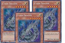 Cyber Dragon (Alternate art) X 3 RYMP-EN059 Secret Yugioh