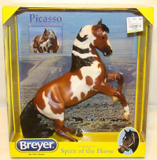 Breyer 2015 Picasso Bay Overo Pinto Rearing Mustang Horse #1742