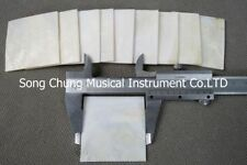 """5Pcs (2""""square) decorate Inlay material white mother of pearl shell blanks"""
