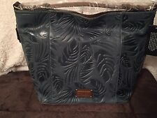 Tignanello Embossed Leather Hobo Bag XL NWT WOW❤️❤️
