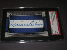 MAURICE RICHARD AUTOGRAPHED CUSTOM SIGNATURE CARD-SGC SLAB-ENCAPSULATED-CANADIEN