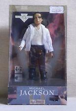 """MICHAEL JACKSON DOLL STREET LIFE MISB SINGS BLACK OR WHITE 1997 B/O 12"""""""