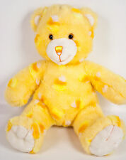 "Build A Bear Teddy 15"" Plush Cuddly Candy Corn Orange Halloween Retired BAB 2005"