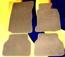 BMW E60 5 SERIES 03-10 ALL MODELS AUTO. G/BOX BEIGE CAR FLOOR MATS WITH VELCRO