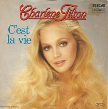 "Charlene Tilton (Dallas TV-Star)- C'est La Vie (7"" Vinyl-Single Germany 1984)"