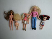 Polly pocket mattel bratz mini barbie high school musical tyco petite poupée lot