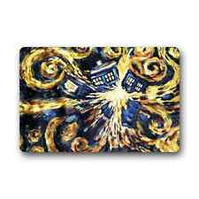 Custom Doctor Who Cover Rug Outdoor Indoor Floor Mat Non-Slip Door Mat