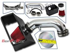 BCP RED 09-15 Dodge Ram 1500 2500 3500 5.7 V8 Cold Air Intake Kit +Heat Shield