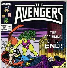 The AVENGERS #296 with Thor & She-Hulk from Oct 1988 in VF+  con. NS
