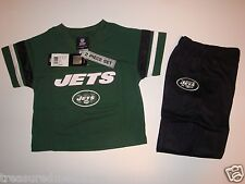 2 Piece New York Jets Pants & Jersey Set  ~ Size 24M ~New With Tags MSRP $38.00