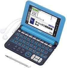 New Casio Electronic Dictionary XD-K4800LB EX-Word Light blue Learn Japanese