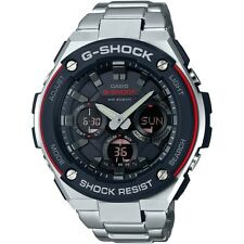 NEW CASIO G-SHOCK G-STEEL MENS WATCH ANA DIGI SOLAR GST-S100D-1A4 FREE EXPRESS