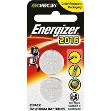 Energizer 2016 battery 2pk - 3v lithium batteries - CR2016