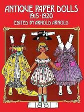 Antique Paper Dolls: 1915-1920-ExLibrary